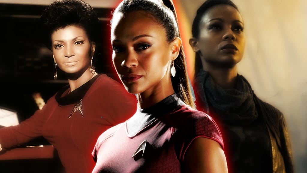 Uhura Reborn Wallpaper by SailorTrekkie92