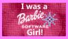 I was a Barbie Software Girl Stamp by SailorTrekkie92