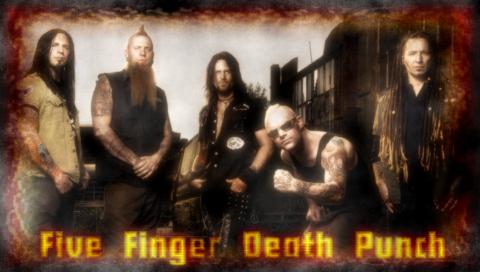 Five Finger Death Punch Wallpaper By SailorTrekkie92