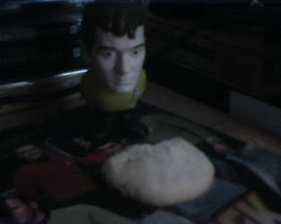 Chekov and a cookie by SailorTrekkie92