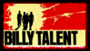 Billy Talent Stamp by SailorTrekkie92