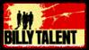 Billy Talent Stamp by SailorTrekkie92