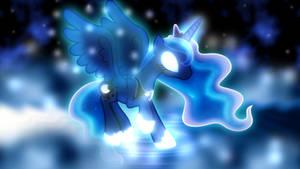 A Creature of Moonlight Wallpaper by SailorTrekkie92