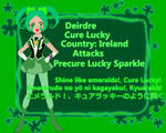 Cure Lucky (Happiness Charge OC)