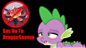 Say No To DragonSneeze Wallpaper by SailorTrekkie92