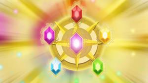 Elements of Harmony Wallpaper by SailorTrekkie92