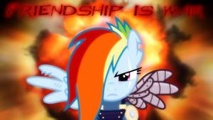 Friendship is War Wallpaper by SailorTrekkie92