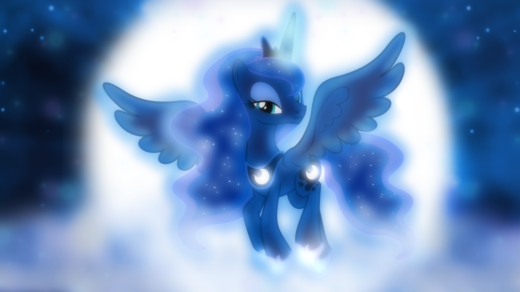 Princess of the Night Wallpaper by SailorTrekkie92