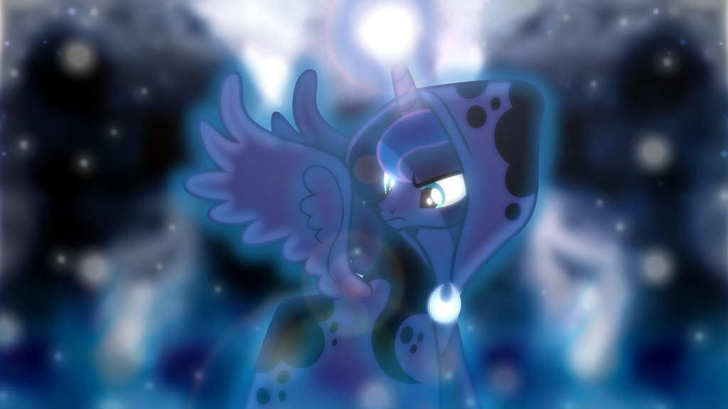 Ghost of Hearth's Warming Future Wallpaper by SailorTrekkie92