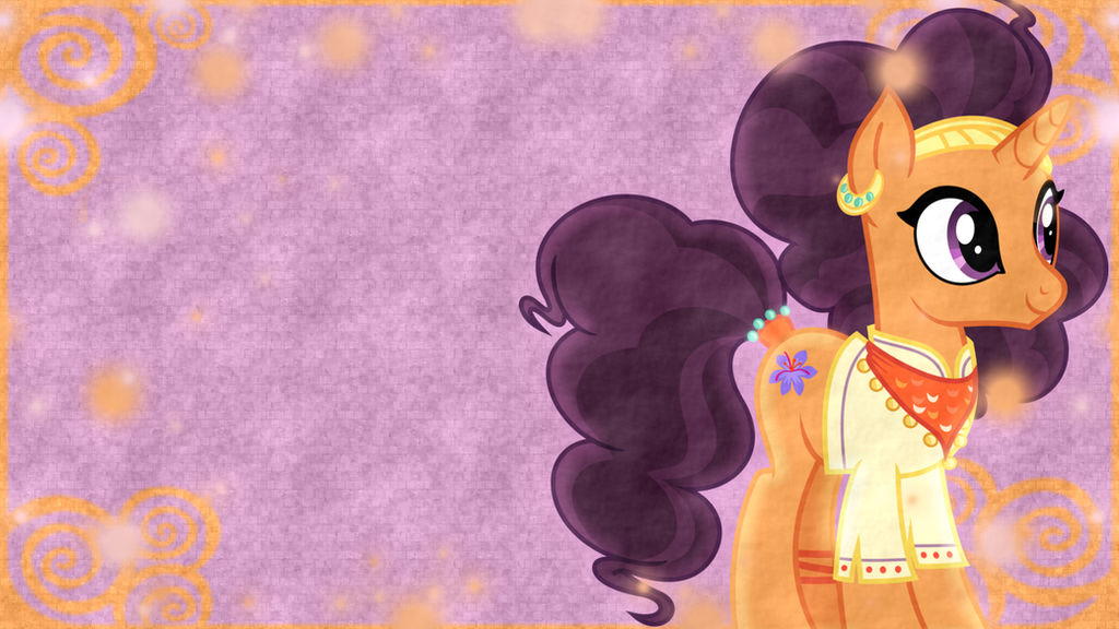 Saffron Masala Wallpaper