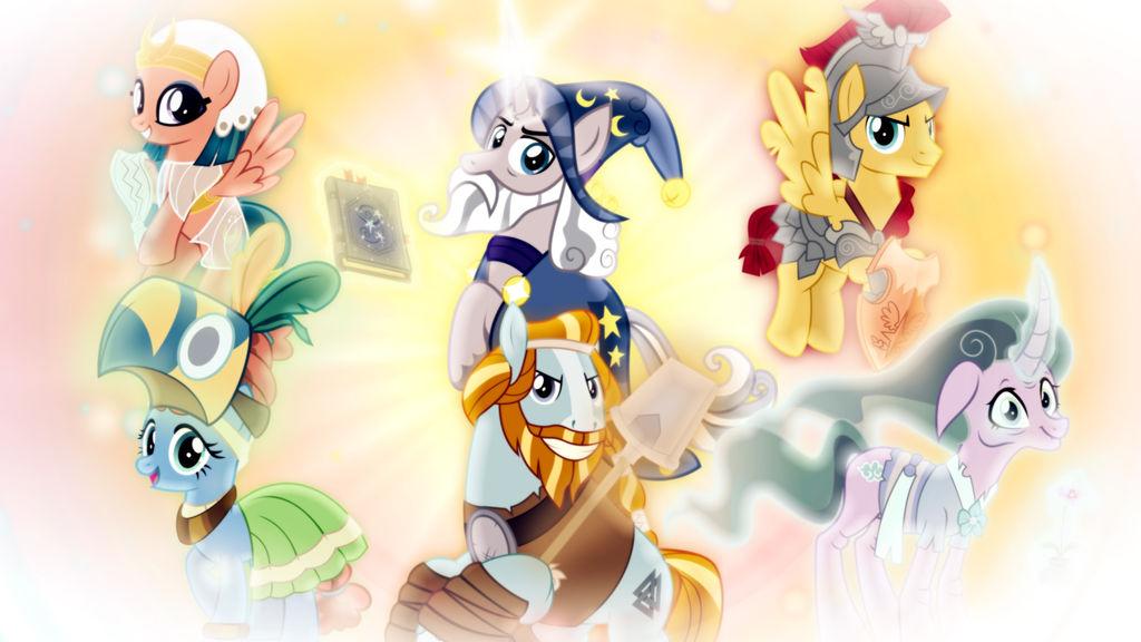 Legends of Magic Wallpaper