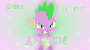 Spike Not Amused Wallpaper