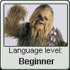 Wookie Language Stamp Level: Beginner by SailorTrekkie92