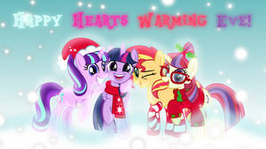 Happy Hearths Warming Eve Wallpaper