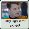 Chekov Language Stamp Level: Expert by SailorTrekkie92