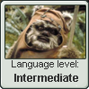 Ewok Language Stamp Level: Intermediate by SailorTrekkie92