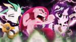 Punk Ponies Wallpaper