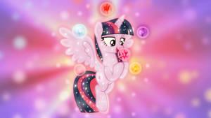 Harmony Sparkle Wallpaper by SailorTrekkie92