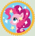 Pinkie Pie Appreciation Stamp by SailorTrekkie92