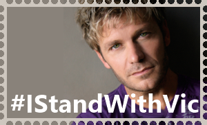 #IStandWithVic Stamp