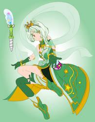 Cure Serpens (Star Twinkle Precure OC) by SailorTrekkie92