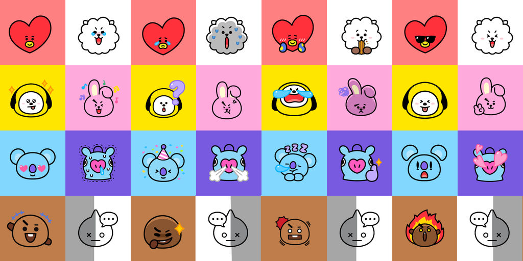 bt21 wallpaper by sailortrekkie92 dd3bsxt