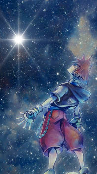 KH Sora iphone wallpaper by SailorTrekkie92