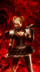 Harley Quinn iphone wallpaper by SailorTrekkie92