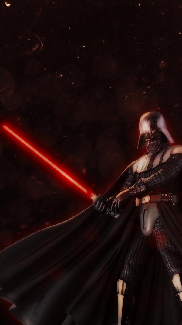 Darth Vader Iphone Wallpaper By Sailortrekkie92 On Deviantart