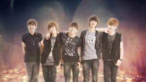 Shinee Wallpaper by SailorTrekkie92