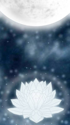 Silver Crystal iphone wallpaper