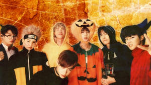 BTS Halloween Wallpaper by SailorTrekkie92