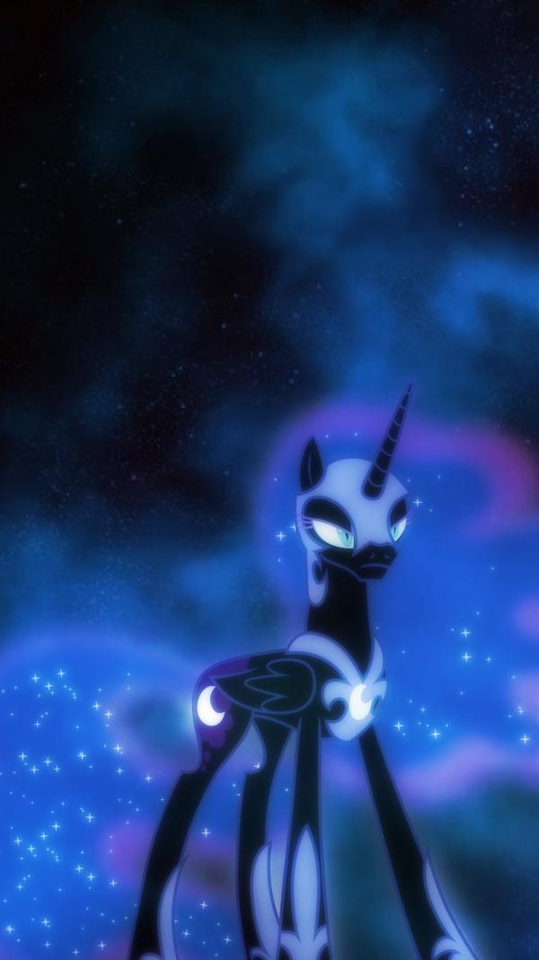 Nightmare Moon Iphone Wallpaper By Sailortrekkie92 On Deviantart