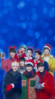 Super Junior Christmas iphone wallpaper by SailorTrekkie92