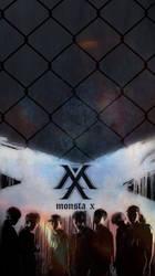 Monsta X Trespass iphone Wallpaper