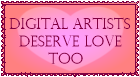 Digital Artists Deserve Love Stamp