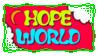 Hope World Stamp