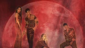 Kard Red Moon Wallpaper by SailorTrekkie92