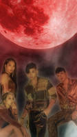 Kard Red Moon iphone wallpaper by SailorTrekkie92