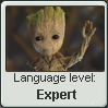 Groot Language Stamp Level: Expert by SailorTrekkie92