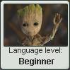 Groot Language Stamp Level: Beginner by SailorTrekkie92