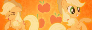 Applejack Twitter Header by SailorTrekkie92