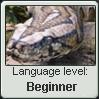 Parseltongue Language Stamp Level: Beginner by SailorTrekkie92