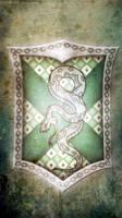 Slytherin iphone wallpaper by SailorTrekkie92