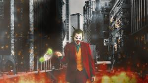 Joker Wallpaper by SailorTrekkie92
