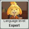 Animalese Language Stamp Level: Expert by SailorTrekkie92