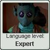 Rodian Language Stamp Level: Expert by SailorTrekkie92