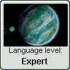 Naboo Language Stamp Level: Expert by SailorTrekkie92