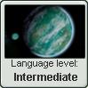 Naboo Language Stamp Level: Intermediate by SailorTrekkie92