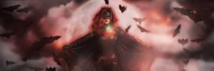 Batwoman Twitter Header by SailorTrekkie92